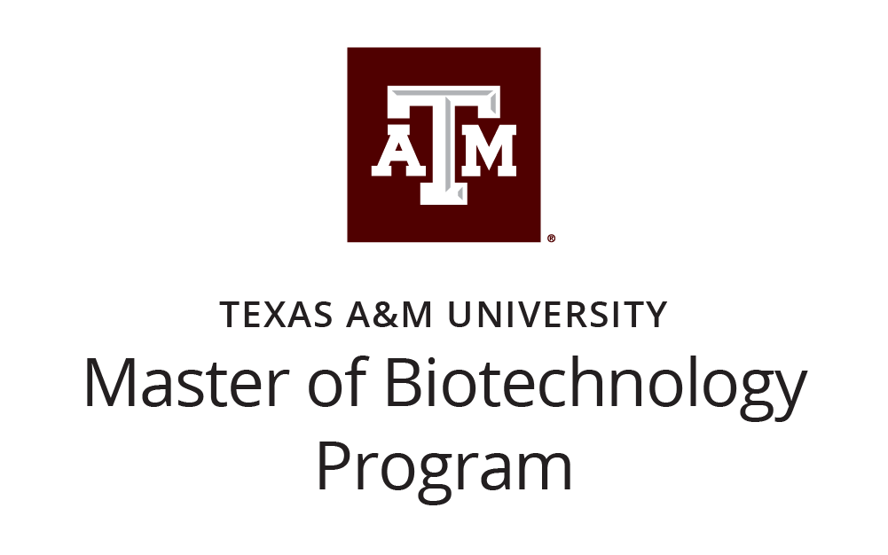 Texas A&M Master of Biotechnology Program